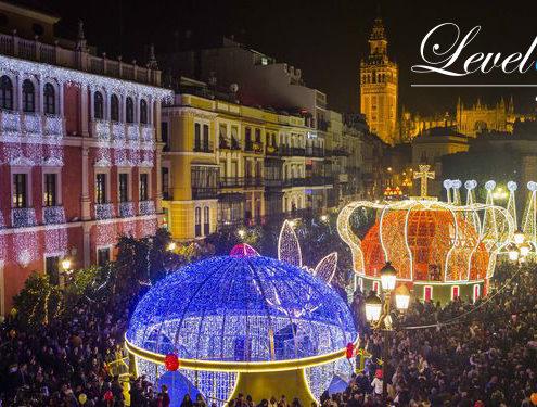 Navidad de Sevilla Terraza en Sevilla | Level 5TH